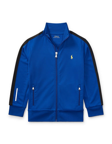 Ralph Lauren Childrenswear Performance Track Jacket-BLUE-5