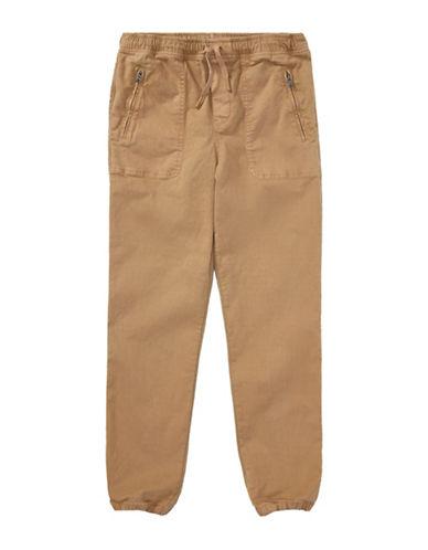 Ralph Lauren Childrenswear Chino-Paneled Pants-BEIGE-Large