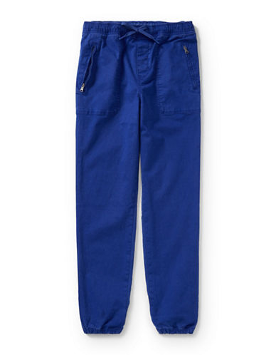 Ralph Lauren Childrenswear Chino-Paneled Pants-BLUE-X-Large