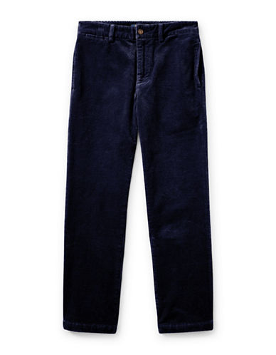 Ralph Lauren Childrenswear Slim-Fit Stretch Corduroy Pants-BLUE-8