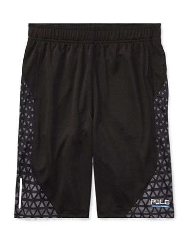 Ralph Lauren Childrenswear Performance Shorts-BLACK-Small 89477633_BLACK_Small