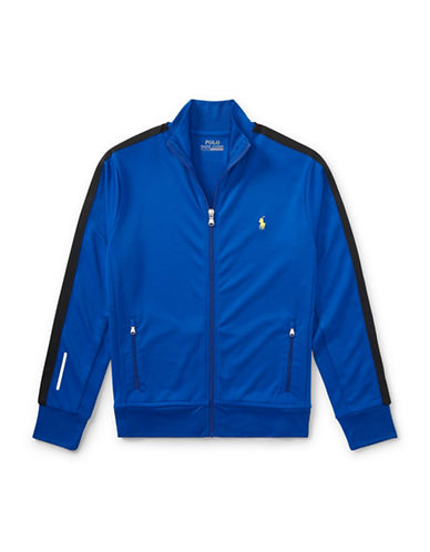 Ralph Lauren Childrenswear Performance Track Jacket-BLUE-Large 89477639_BLUE_Large