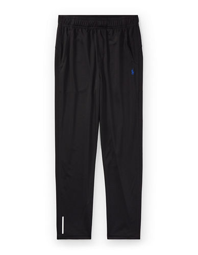 Ralph Lauren Childrenswear Zip-Vent Performance Pants-BLACK-Large 89477644_BLACK_Large