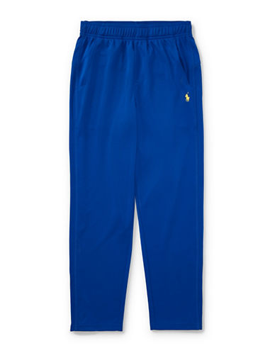 Ralph Lauren Childrenswear Zip-Vent Performance Pants-BLUE-Large