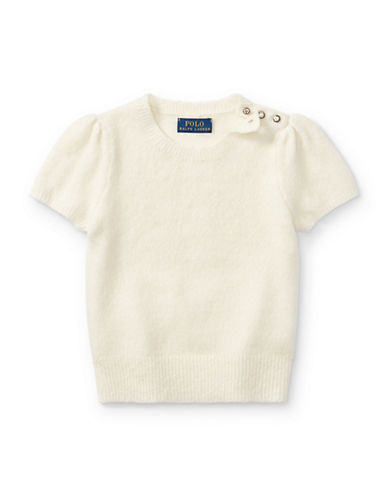 Ralph Lauren Childrenswear Party Crewneck Sweater-NATURAL-2