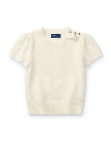 Ralph Lauren Childrenswear Party Crew Neck Sweater-NATURAL-6