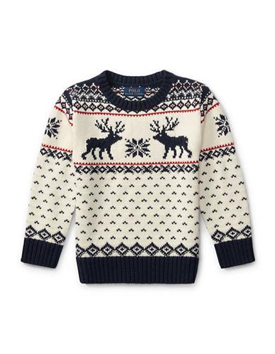 Reindeer Cotton-Wool Sweater | Hudson's Bay