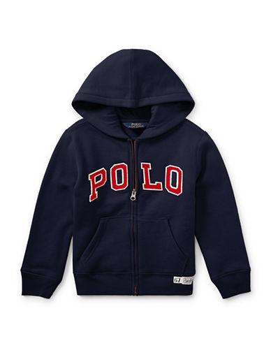Ralph Lauren Childrenswear Fleece Hooded Jacket-BLUE-5
