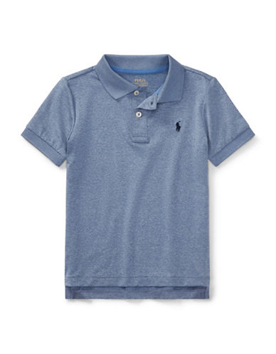 Ralph Lauren Childrenswear Performance Stretch Polo-BLUE-3T