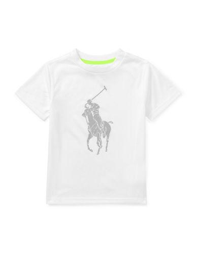 Ralph Lauren Childrenswear Performance Jersey Tee-WHITE-5
