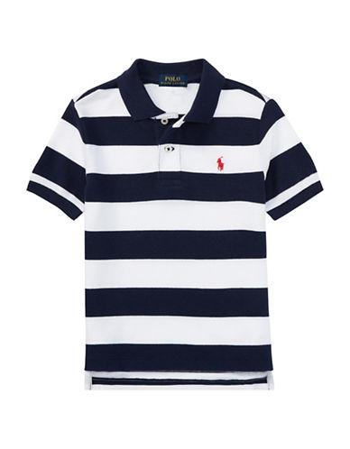 Ralph Lauren Childrenswear Chambray Cotton Polo-BLUE-5