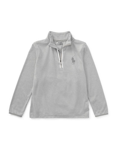 Ralph Lauren Childrenswear Stretch Jersey Pullover-GREY-6