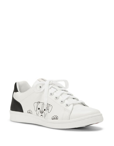 Ed Ellen Degeneres Chapanima Leather Sneakers-WHITE-6.5
