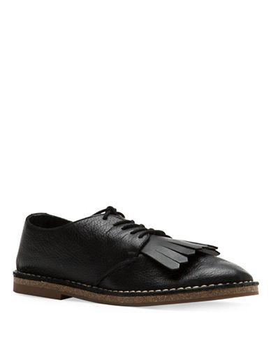 Ed Ellen Degeneres Kayleigh Tassel Loafers-BLACK-6.5