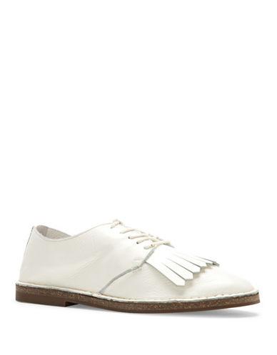 Ed Ellen Degeneres Kayleigh Tassel Loafers-WHITE-6.5