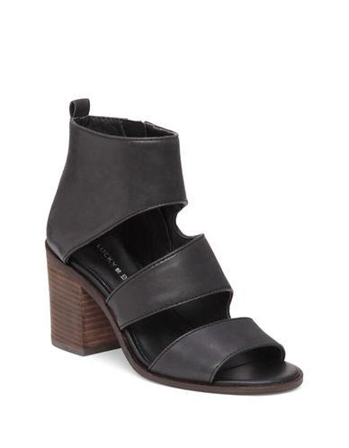 Lucky Brand Kabott Banded Sandals-BLACK-7