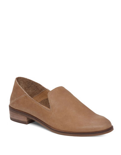 Lucky Brand Cahill Leather Loafers-BROWN-10