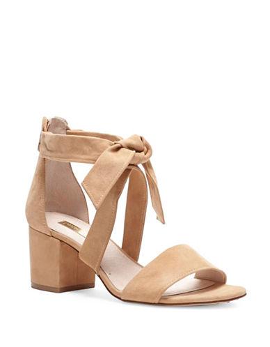 Louise Et Cie Gia Suede Sandals-TAN-8.5