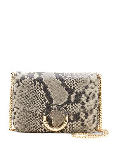 Vince Camuto Adina Leather Crossbody Bag-SNAKESKIN-One Size