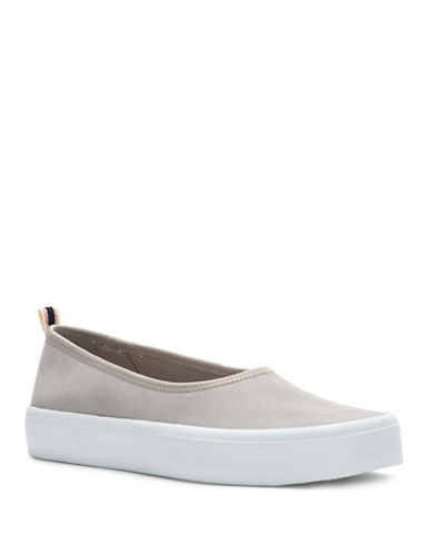 Ed Ellen Degeneres Denji Slip-On Sneakers-GREY-10