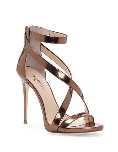 Vince Camuto Devin Leather Stiletto Sandals-BRONZE-6