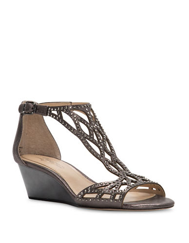 Vince Camuto Imagine Jalen Embellished Leather Sandals-ANTHRACITE-8