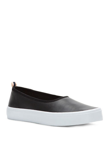 Ed Ellen Degeneres Denji Slip-On Sneakers-BLACK-8.5