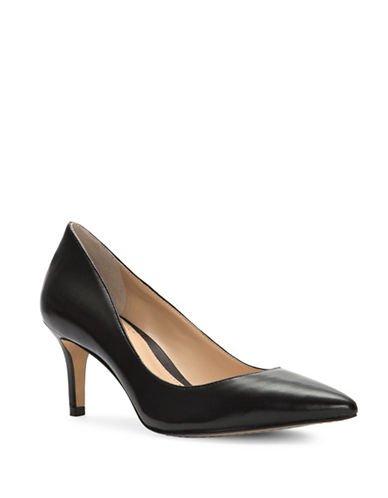 Vince Camuto Tanela Leather Pumps-BLACK-7