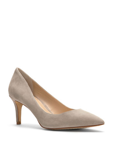 Vince Camuto Tanela Suede Pumps-TAUPE-10