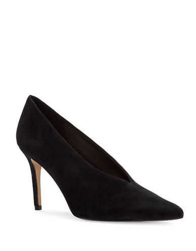 Vince Camuto Ankia Closed Toe Pumps-BLACK-6.5