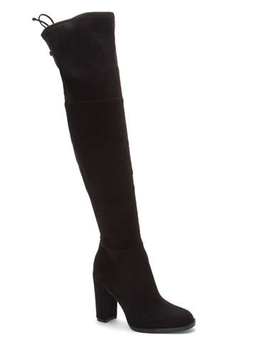 Vince Camuto Graidily Over-The-Knee Boots-BLACK SUEDE-7