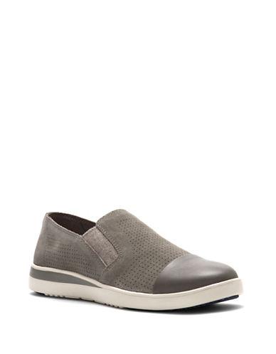 Ivanka Trump Aviana Suede Sneakers-STONE-8.5
