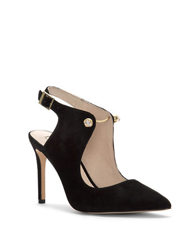 Louise Et Cie Jonah Suede Pumps-BLACK-6.5