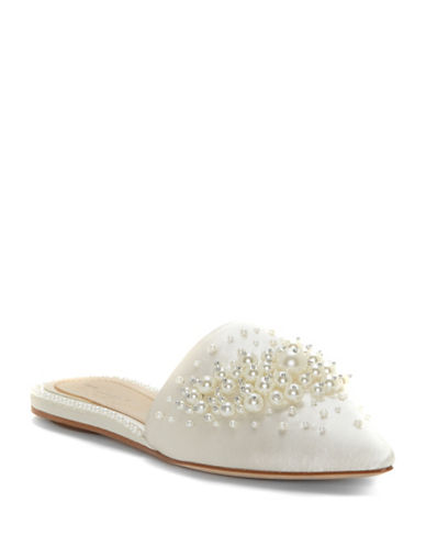 Imagine Vince Camuto Casele Pearl Mules-IVORY-6