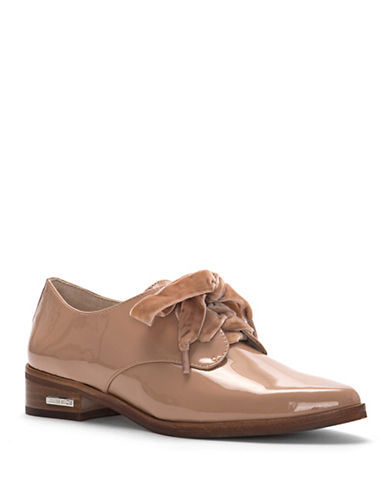 Louise Et Cie Adwin Cherie Laced Leather Oxfords-PINK-9.5