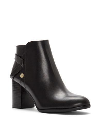 Louise Et Cie Zanara Leather Booties-BLACK-11