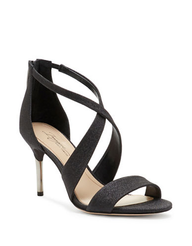Imagine Vince Camuto Pascal Stiletto Sandals-BLACK-7.5