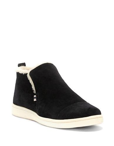 Ed Ellen Degeneres Cambon Suede Sneakers-BLACK-7.5