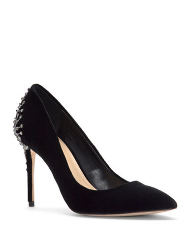 Imagine Vince Camuto Olive Velvet Pumps-BLACK VELVET-7