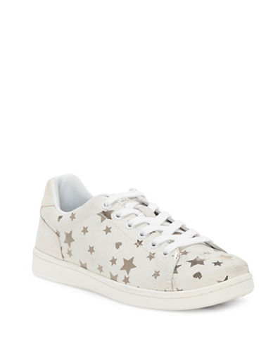 Ed Ellen Degeneres Womens Chapastar Leather Sneakers-WHITE-10