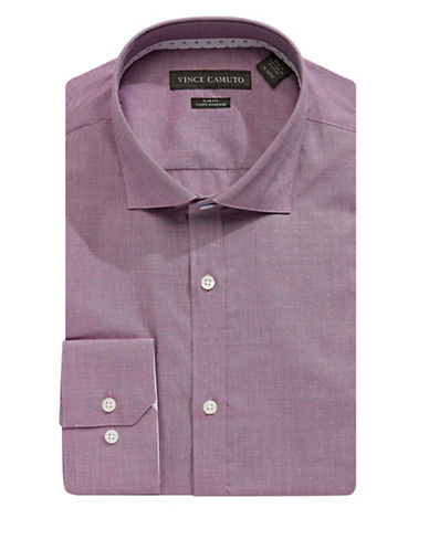 Vince Camuto Square Neat Slim Fit Shirt-RUBY-15-32/33