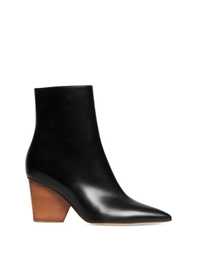 Paul Andrew Tivoli Leather Ankle Boots-BLACK-EUR 39/US 9