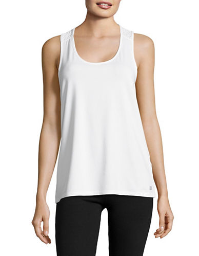 Ivanka Trump Cut-Out Tank-WHITE-X-Large 89161944_WHITE_X-Large