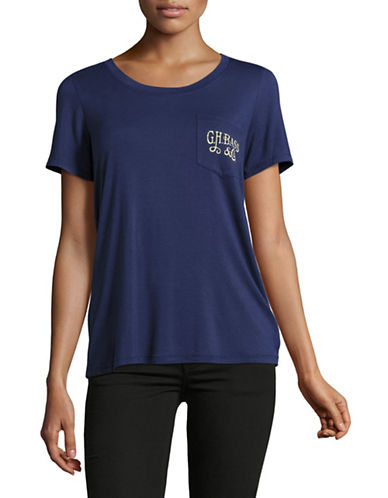G.H. Bass & Co. Sail Away Graphic Tee-NAVY-Small