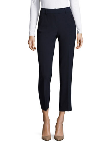 Miscellaneous Skinny Ankle Pants-BLUE-8