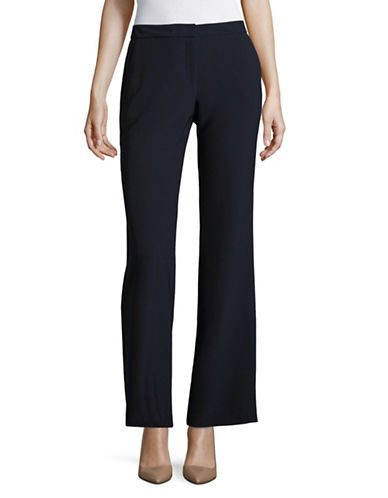 Karl Lagerfeld Paris Wide Leg Pants-BLUE-2
