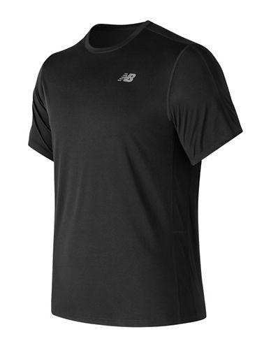 New Balance Short-Sleeve Tee-BLACK-Large 89964843_BLACK_Large