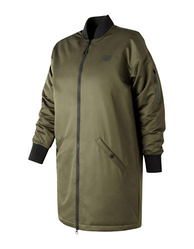 New Balance Flight Down-Filled Jacket-GREEN-X-Large