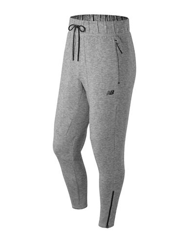 New Balance 247 Luxe Jogging Pants-GREY-XX-Large