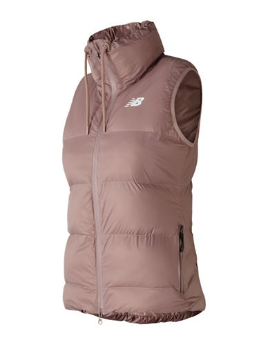 New Balance Sport Thermal Vest-NATURAL-X-Large